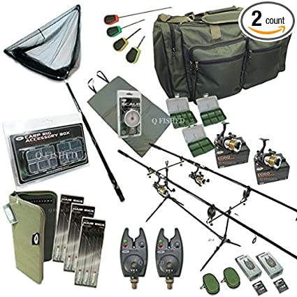 Amazon.com: Conjunto completo de pesca de carpas Up. 2 ...