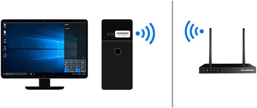 Amyove CF-WU815N Mini USB WiFi Wireless Adapter 150mbps WiFi Receiver 802.11n USB Ethernet Adapter for PC