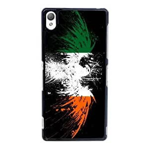 Sony Xperia Z3 Cell Phone Case Black Irish Flag AS7YD3621797