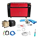 Superland 100W CO2 Laser Laser Engraver Engraving Cutting Machine with Color Screen 900X600mm (36''x24'' 100W)