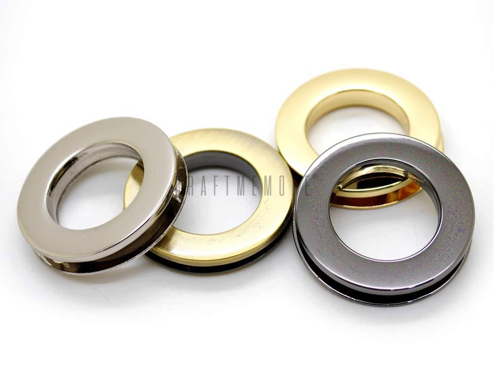 Amazon.com: CRAFTMEmore 4 piezas de tornillos de metal con ...