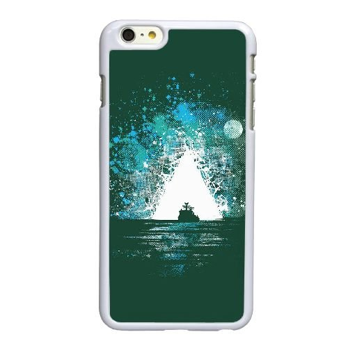 Bermuda I8A13U0OY coque iPhone 6 6S Plus 5.5 Inch case coque white 68WFK0