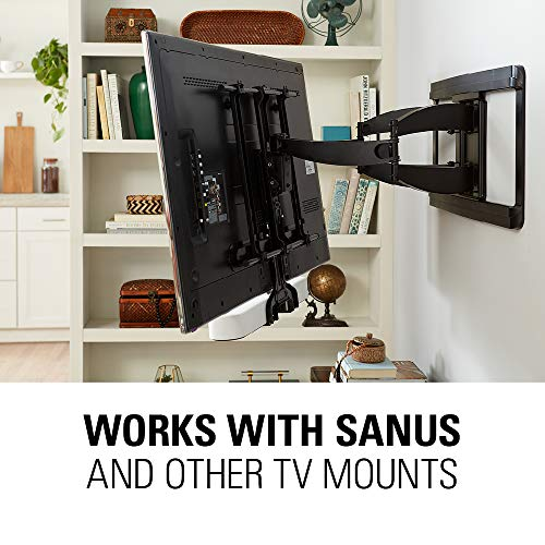 Sanus Soundbar Mount Compatible with Sonos Beam - Height Adjustable Up to 12'' & Designed to Work with Any TV - Custom Fit to The Beam for Optimal Audio Performance by Sanus (Image #7)