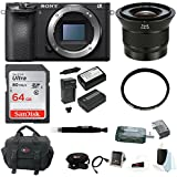 Sony a6500 Mirrorless Camera w/ Zeiss Touit 12mm f/2.8 Lens + Accessory Bundle