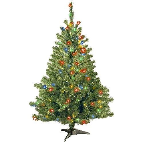 prelit christmas tree multi color lights amazoncom - Christmas Tree Lights Amazon