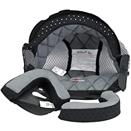 Biltwell Bonanza Helmet Liner (Grey, XX-Large)