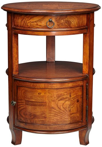 Kensington Hill Kendall Cherry Round Accent Table