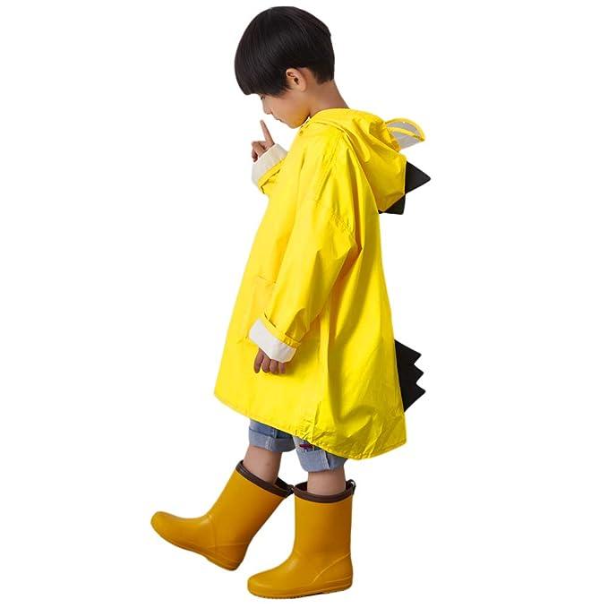 Amazon.com: ChenPin - Chubasquero para niños de 1 a 10 años ...