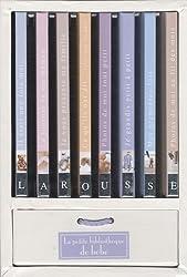 La petite bibliothèque de bébé : Coffret en 8 volumes : Il était une fois moi ; Le journal de ma maman ; Je vous présente ma famille ; Ce qu'ils ont ... fois ; Photos de moi au fil des mois