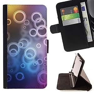 Momo Phone Case / Flip Funda de Cuero Case Cover - Patrón de timbre;;;;;;;; - Sony Xperia M4 Aqua