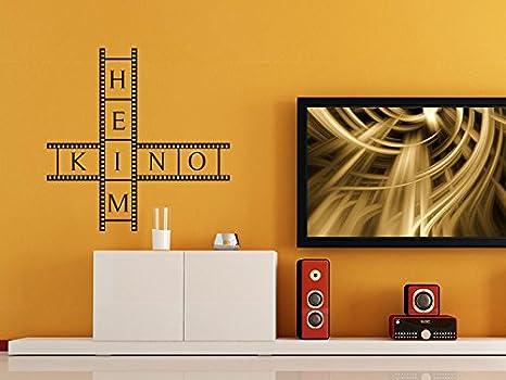 Pared Adhesivo cine en casa, morado lavanda, 80 x 80 cm: Amazon.es ...