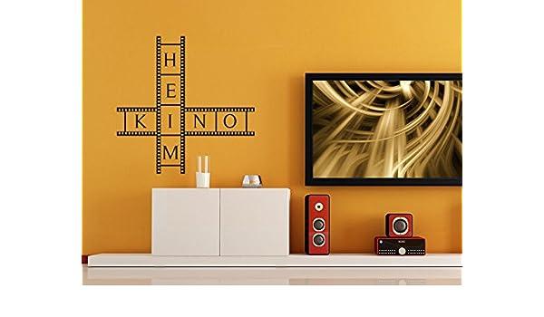 Pared Adhesivo cine en casa, color avellana, 100 x 100 cm: Amazon ...