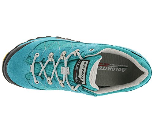 0579 flacher Women 250517 Green Zernez blu Sea night GTX Wanderschuh Low Damen Dolomite RXxt8t