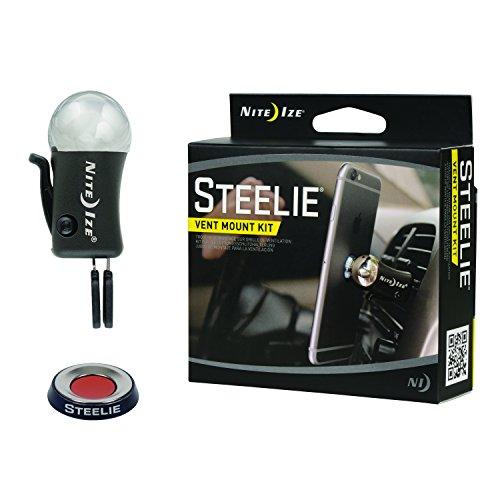 Nite Ize Steelie Vent Mount Kit, Magnetic Cell Phone Holder (Dash Marine)