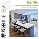 Hykolity 12 Pack 5/6 Inch LED Recessed