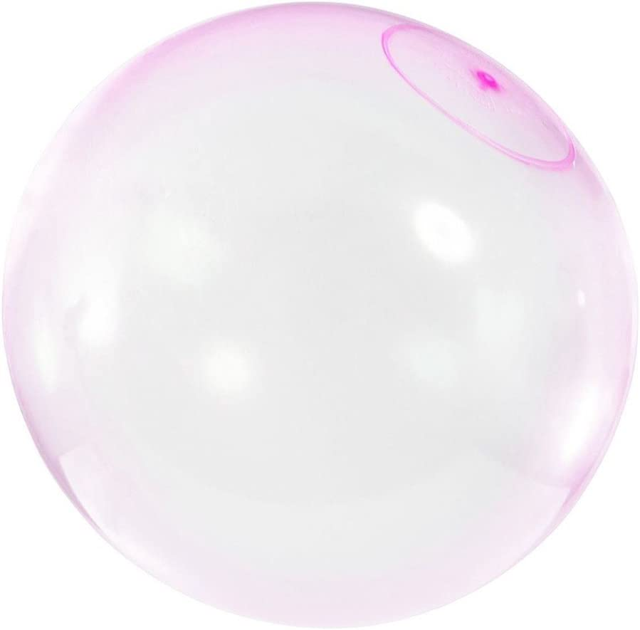 CCGTOY Bubble Balloon Inflatable Funny Toy Ball Amazing Tear-Resistant Super Good Gift Inflatable Balls for Outdoor Play Random Color Size L, 20inch