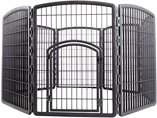 IRIS 34 Exercise 8-Panel Pet Playpen