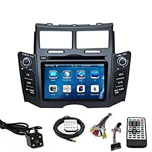 car stereo dvd player for toyota yaris 2007. Black Bedroom Furniture Sets. Home Design Ideas