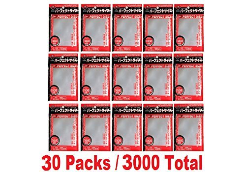 KMC 100 Card Barrier PERFECT SIZE (30 packs/Total 3000)