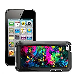 Super Stellar Slim PC Hard Case Cover Skin Armor Shell Protection // M00051022 paint aero splatter colorful // Apple iPod Touch 4 4G 4th