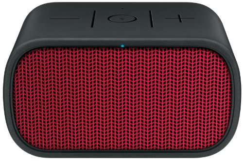 UE MINI BOOM Wireless Bluetooth Speaker - Red (Boombox Logitech Bluetooth)