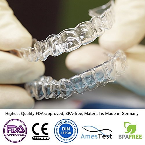 P & J Health Custom Mouth Guard for Teeth Grinding & Bruxism (Upper, Transparent) by P & J Health (Image #1)