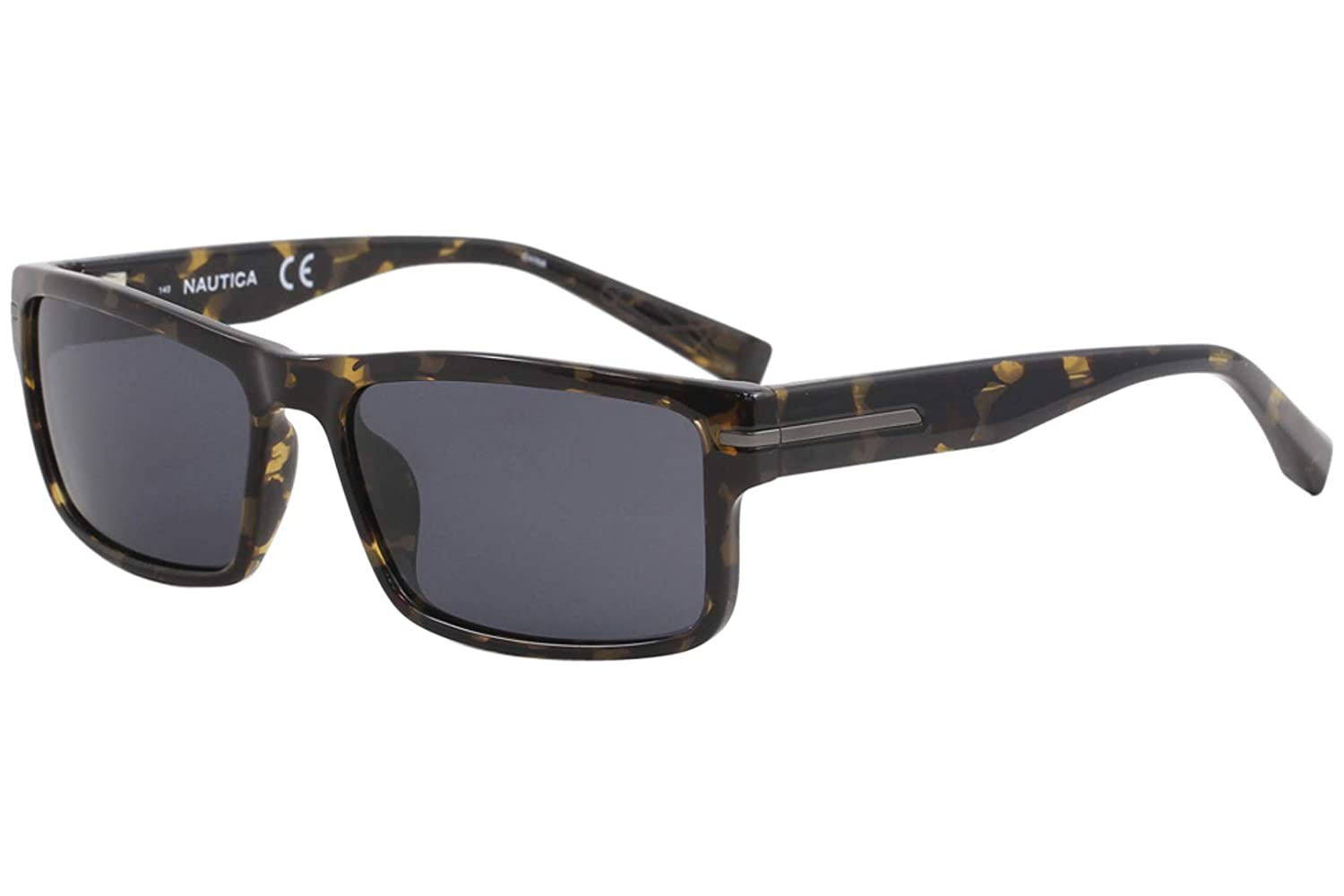 d758f9fcfb2 Nautica Sunglasses N6186S 282 Tokyo Tortoise 58 17 140 at Amazon Men s  Clothing store
