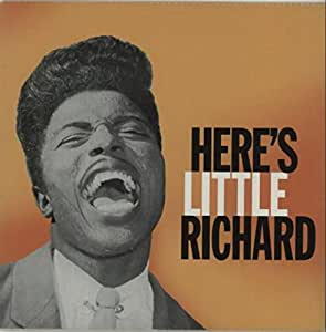 Here's Little Richard Orange Vinyl