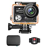 Zmeida 4K 14MP Action Camera 170° Wide Angle Dual Screen Waterproof Sports Video Underwater Camcorder