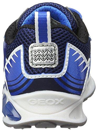 Geox J Shuttle B, Zapatillas para Niños Azul (Navy/royalc4226)