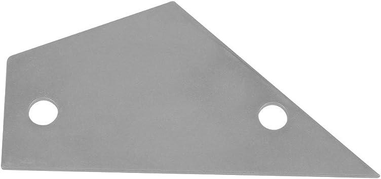 BQLZR Silver Guitar Bass Adjust Repair Frets Leveling Checker Carbon Steel Fret Rocker Fretboard Board Luthier Tool