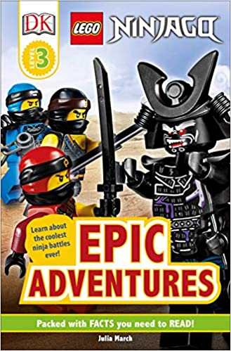 Amazon.com: DK Readers Level 3: LEGO NINJAGO: Epic Adventures (9781465484277): March, Julia, DK: Books