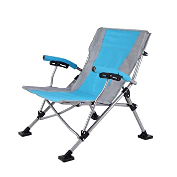 HM&DX Exterior sillas de camping plegables Para gente pesada ...