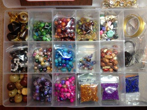 Cocoa S Beads Jewelry Making Bead Kit Glass Beads