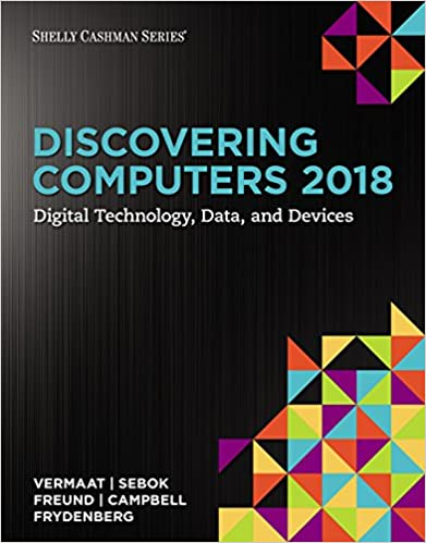 Amazon discovering computers 2018 digital technology data discovering computers 2018 digital technology data and devices 1st edition kindle edition fandeluxe Images