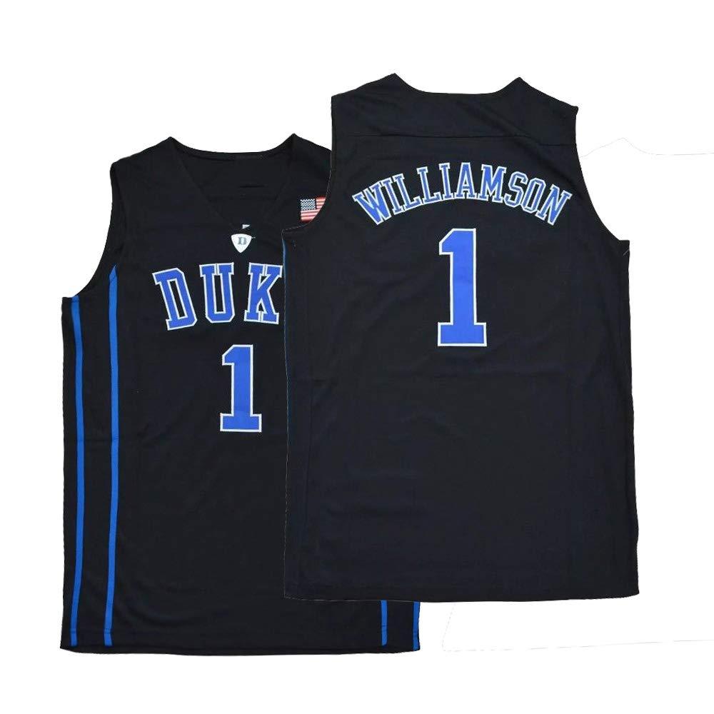 quality design 30247 6e3c1 Amazon.com: Mens Williamson Jersey Duke 1 College Adult ...