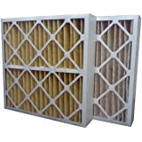 US Home Filter SC60-20X24X4 20x24x4 Merv 11 Pleated Air Filter (3-Pack), 20 x 24 x 4