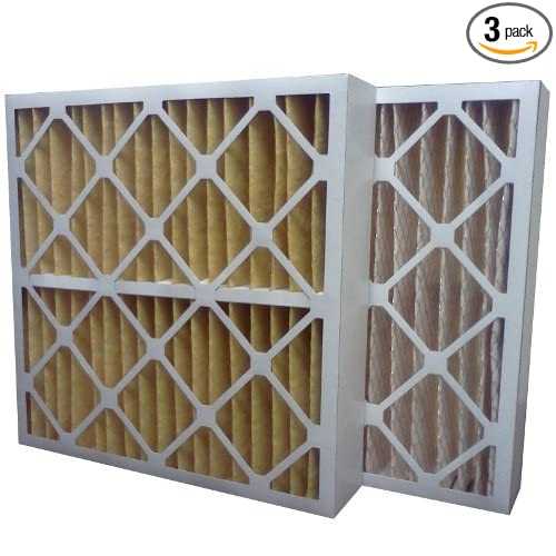 24 x 24 x 4 24 x 24 x 4 Midwest Supply Inc US Home Filter SC60-24X24X4 24x24x4 Merv 11 Pleated Air Filter 3-Pack