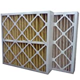 US Home Filter SC60-20X24X4 20x24x4 Merv 11 Pleated Air Filter (3-Pack), 20