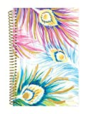 Bloom Daily Planners 2018-2019 Academic Year Day Planner - Monthly/Weekly Calendar Book - Inspirational Dated Agenda Organizer - (August 2018 - July 2019) - 6'' x 8.25'' - Peacock Feathers