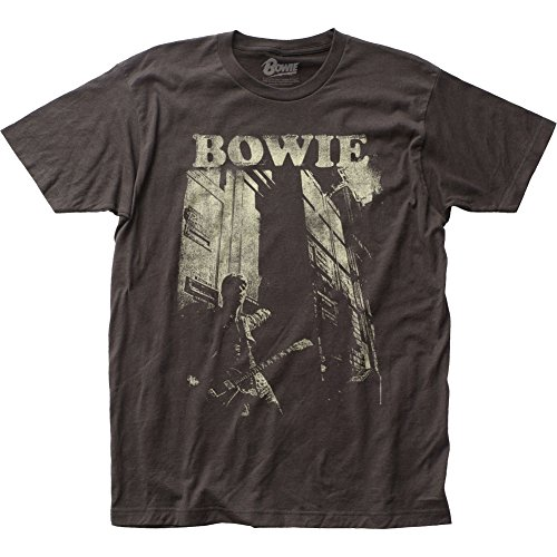 Impact David Bowie - Guitar T-Shirt Size M, Medium,black