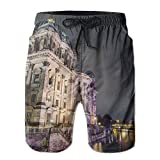 Church Comfortable Sports Basketball Clothes Printing Swimming Drawstring Board Shorts Pockets