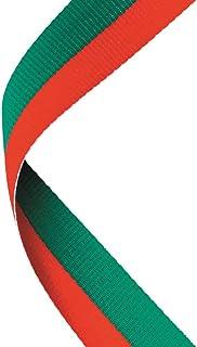 Médaille Ruban Rouge/Vert–30x 0.875en