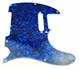 IKN Pearl Blue Pickguard for Tele Telecaster Style Guitar 3Ply