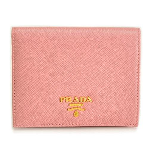 PRADA(プラダ) ミニ財布 サフィアーノ 小銭入れ カードケース 二つ折り財布 1MV204 QWA 442 [並行輸入品] B078YMJC8N