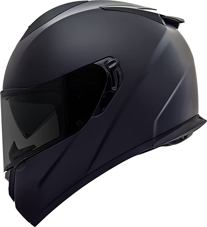 Amazon.es: GDM Duke cascos dk-350 Full Face casco de moto, color negro mate