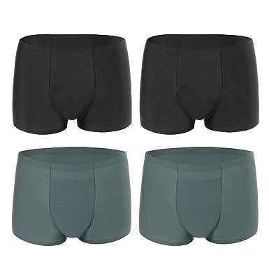 4769095bdc2c SIMIYA Mens Boxers,Seamless Man Underwear 3D Underpants Breathable Shorts  Soft Briefs Plus Size Trunks