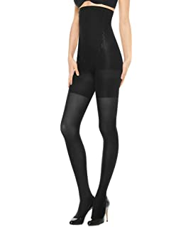 d21dfcf8cd4922 Spanx High-Waisted Body-Shaping Tight-End Tights at Amazon Women's ...