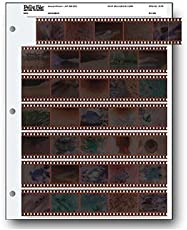 Print File 35mm Size Negative Pages Holds Seven Strips of Five Frames, Pack of 1000
