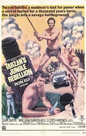 Póster de película Tarzán está Jungle Rebellion 11 x 17 en ...